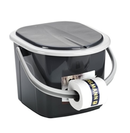 Toilette BRANQ 15,5 Liter Campingtoilette Toiletteneimer Reisetoilette Outdoor - 1